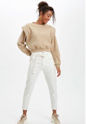 DEFACTO  WOMAN  - Pantalon classique - ecru