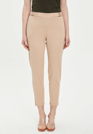 DEFACTO WOMAN BLACK - Chino - beige
