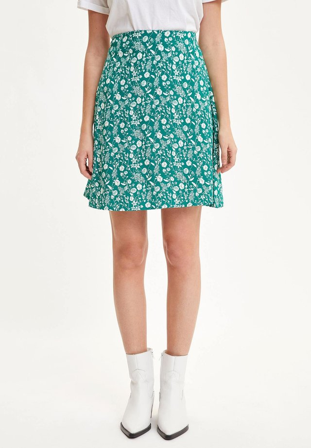 Minijupe - green