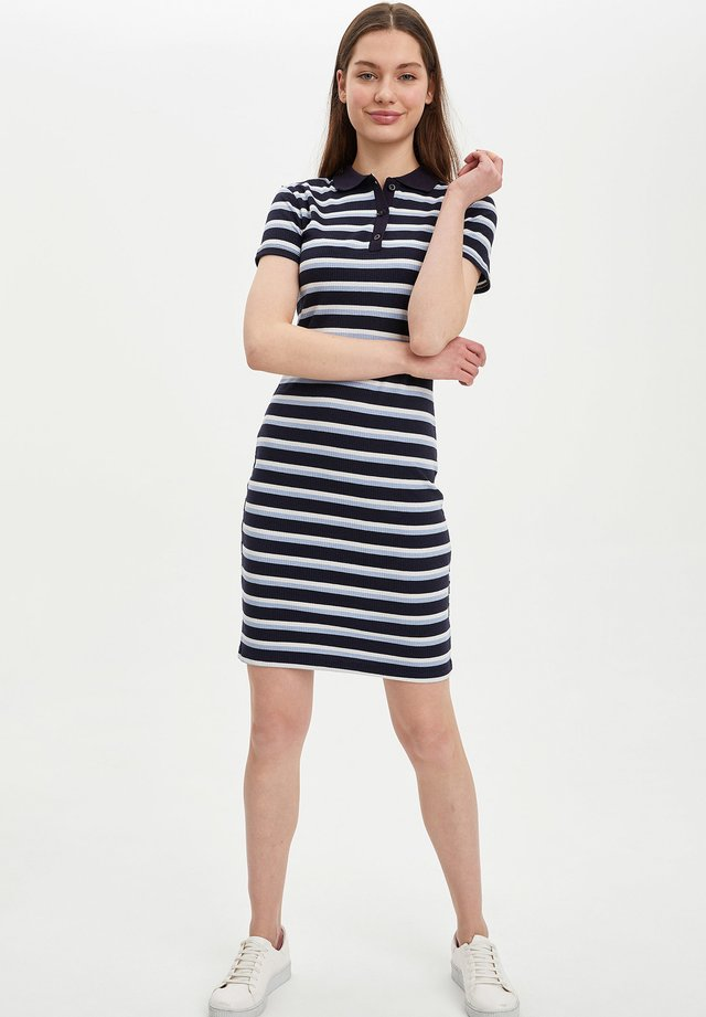 Day dress - navy