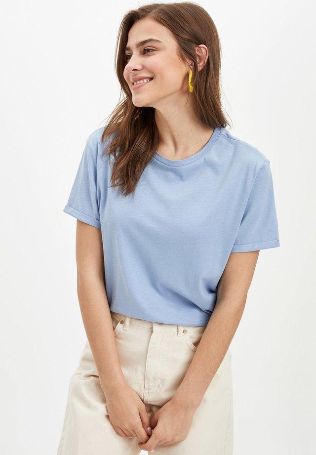DEFACTO  WOMAN - T-shirt basique - blue