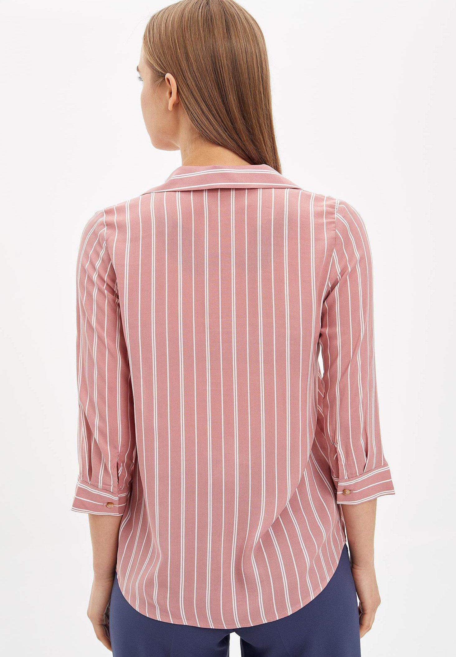 DeFacto Koszula pink Zalando.pl  eVVij