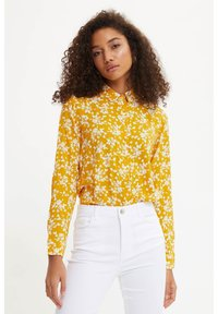 DeFacto - Button-down blouse - yellow - 0