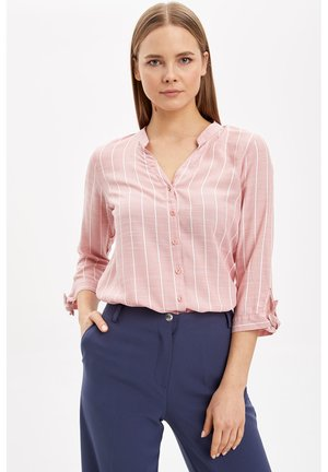 Button-down blouse - pink