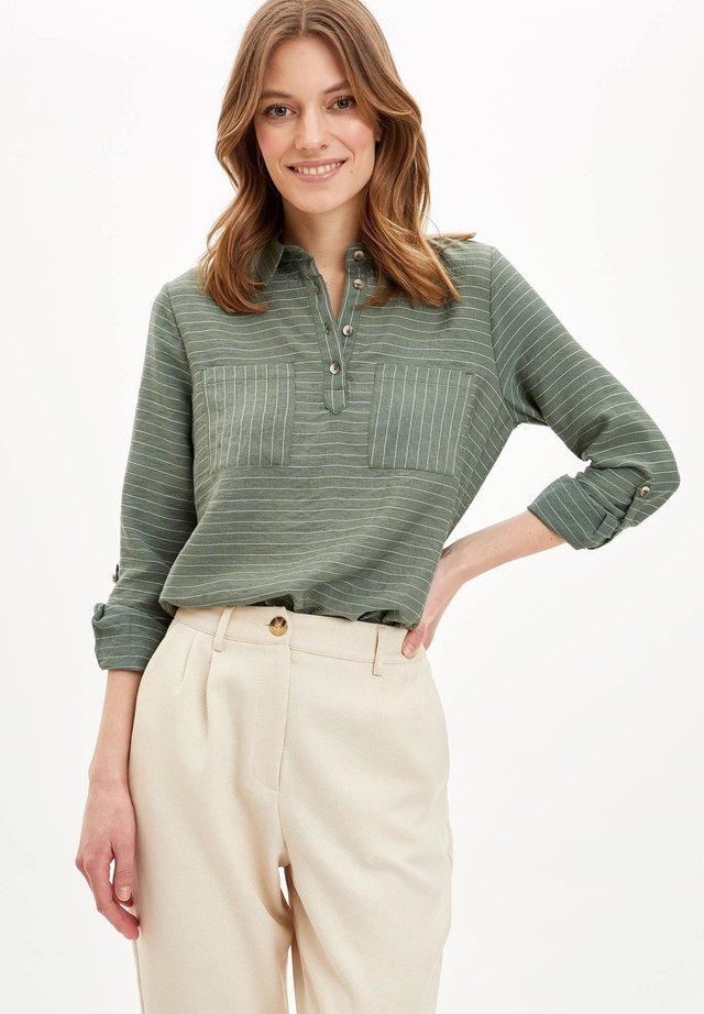 Långärmad tröja - green