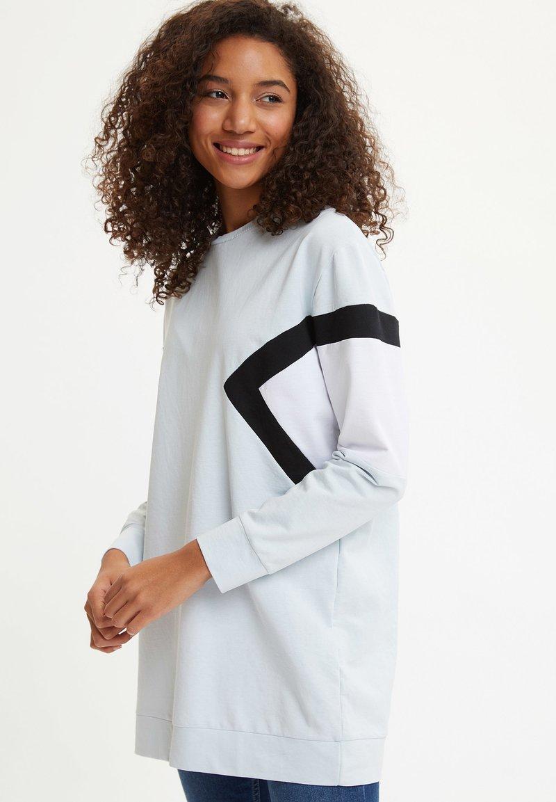DeFacto - Long sleeved top - blue