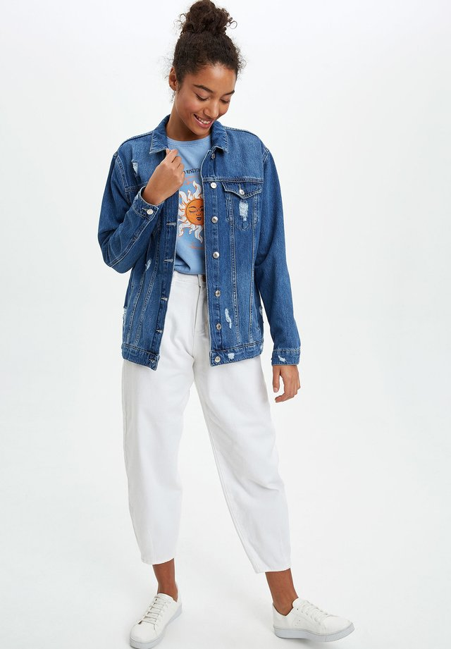 Kurtka jeansowa - blue