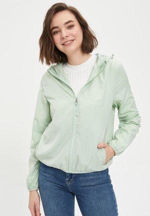 Light jacket - turquoise