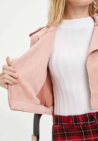 DeFacto - Giacca in similpelle - pink - 2