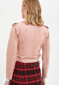 DeFacto - Giacca in similpelle - pink - 1
