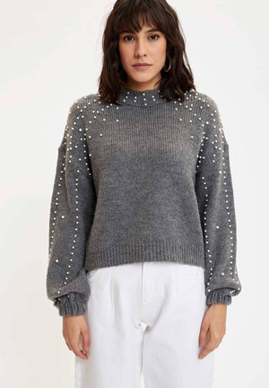 Sweter - anthracite