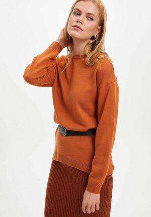 Jersey de punto - brown