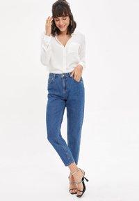 DeFacto - Straight leg jeans - blue - 3