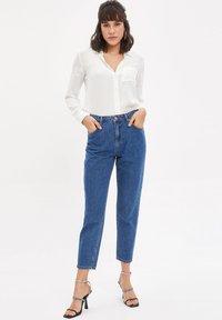 DeFacto - Straight leg jeans - blue - 1