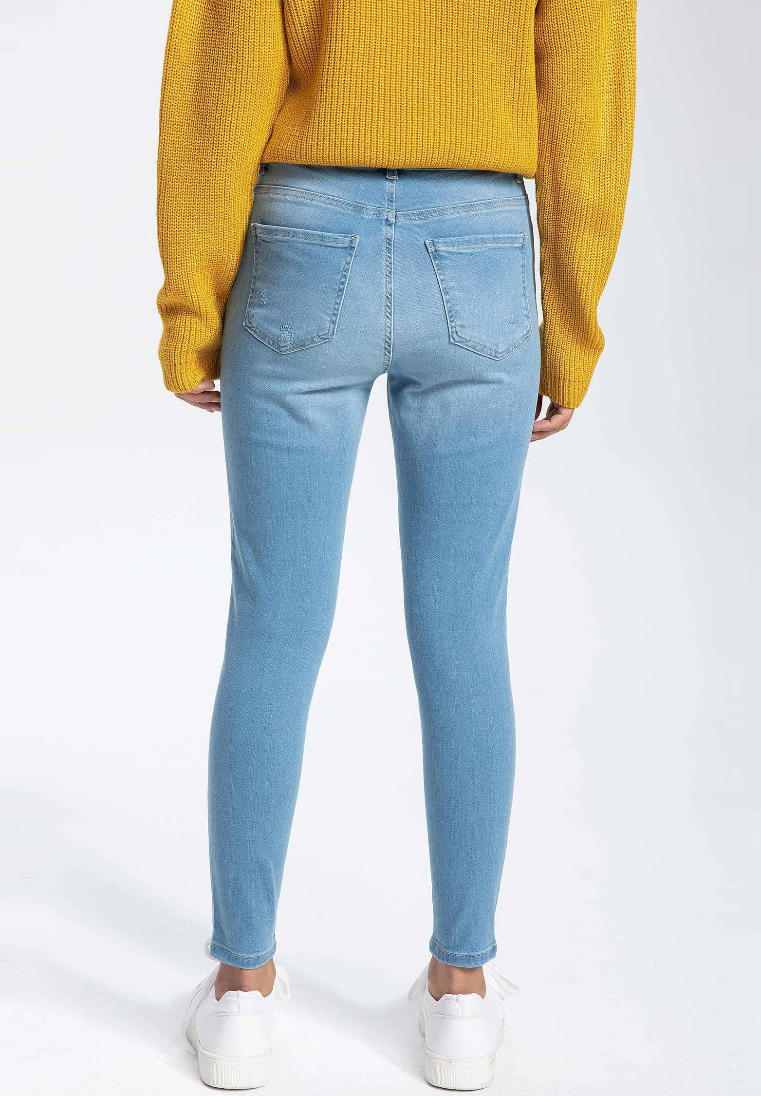 DeFacto Jeansy Skinny Fit - blue