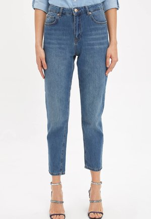 LINE MOM - Jeans a sigaretta - blue