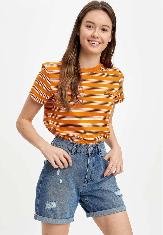 DEFACTO  WOMAN - Jeans Short / cowboy shorts - blue