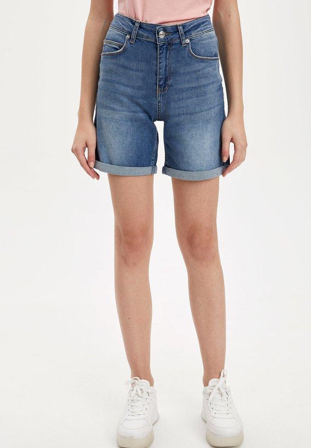 Szorty jeansowe - blue
