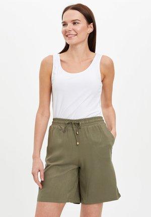 DEFACTO WOMAN ORANGE - Shorts - khaki