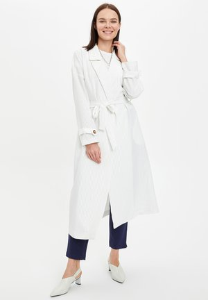 DEFACTO WOMAN  ECRU - Trench - ecru