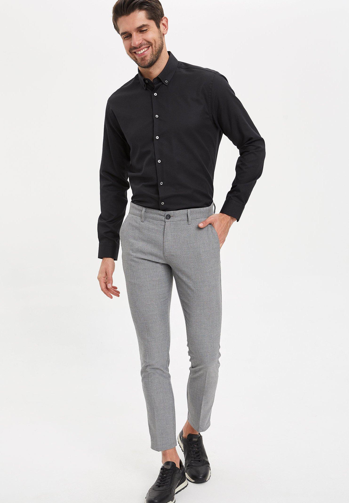 DeFacto Pantalon classique - grey