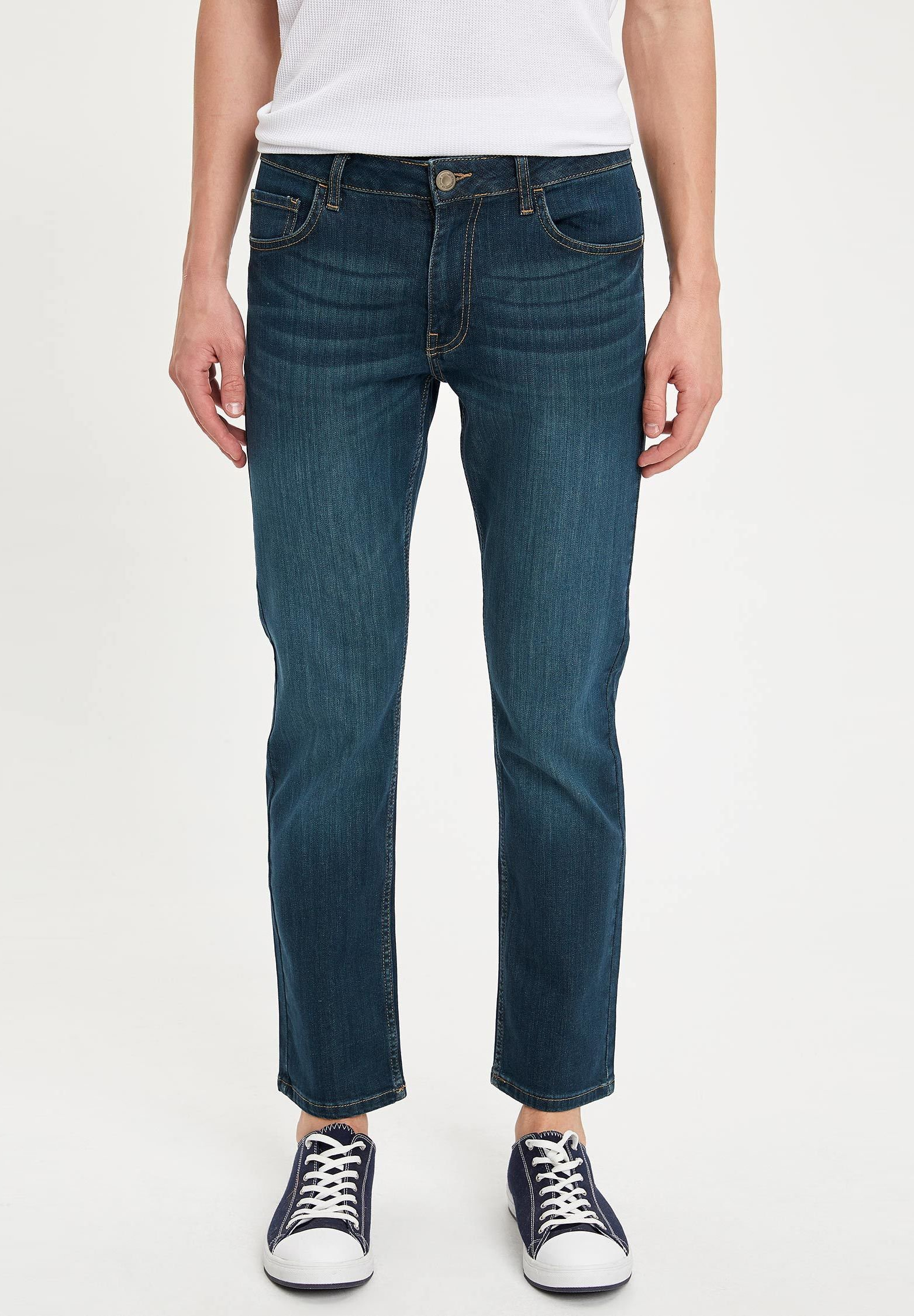 Relaxed fit jeans green