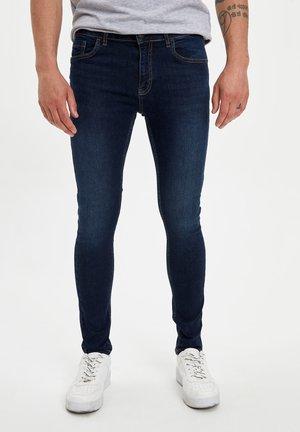 DEFACTO MAN SLIM FIT BLUE - Slim fit jeans - blue