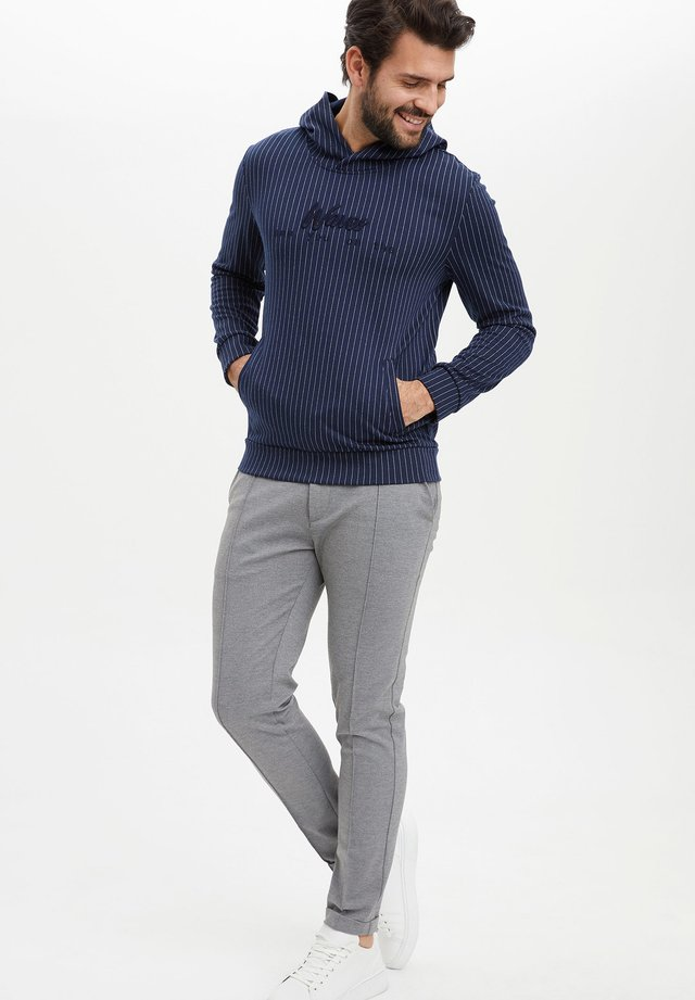 Jersey con capucha - navy