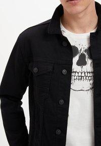 DeFacto - Denim jacket - black - 4