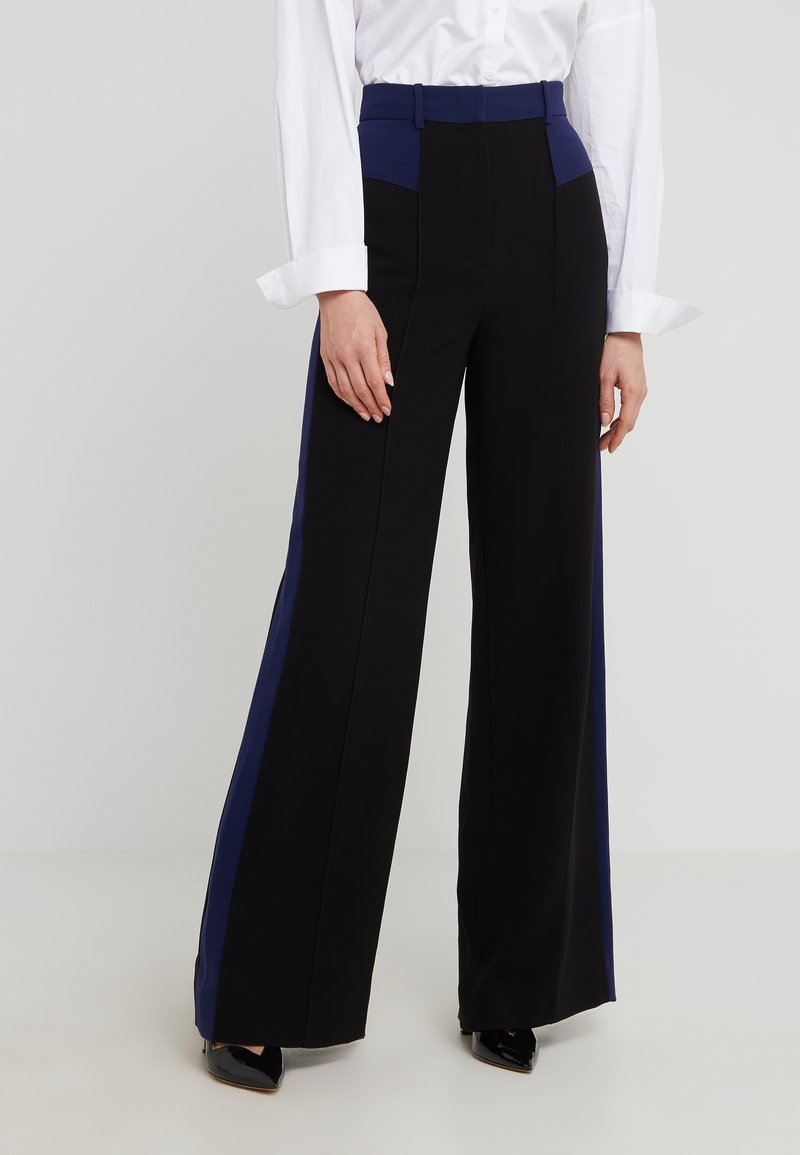 Diane von Furstenberg - LIBERTY - Broek - black/navy