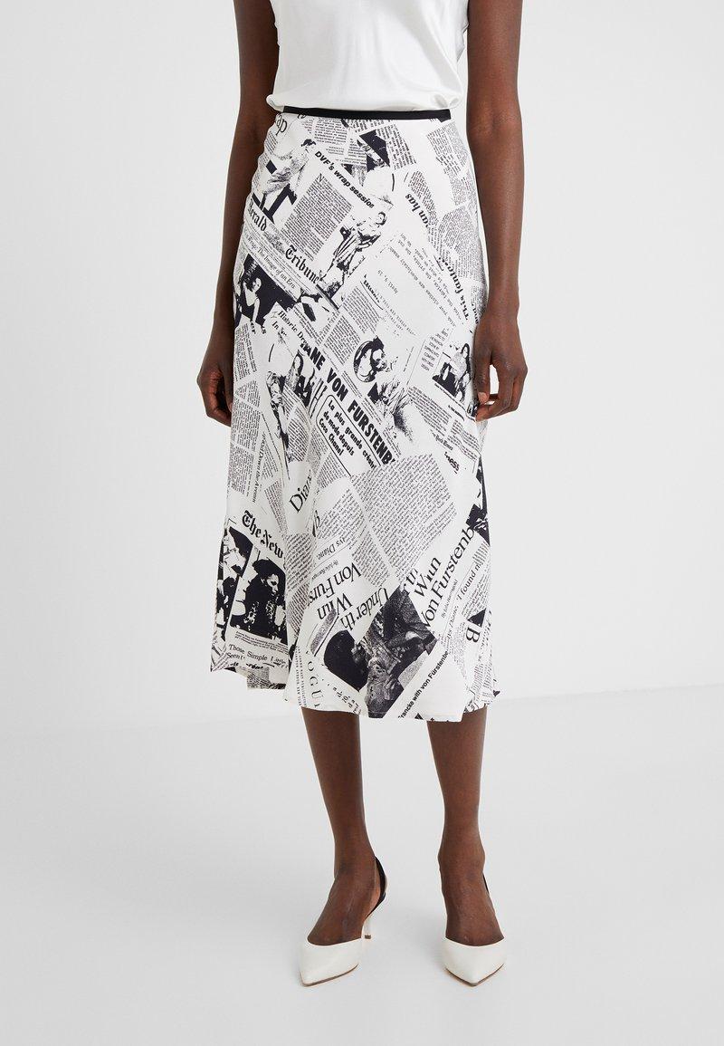 Diane von Furstenberg - MAE - A-line skirt - ivory