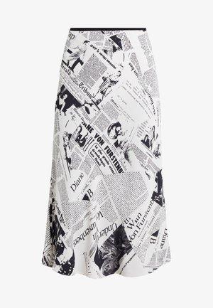 MAE - Áčková sukně - ivory