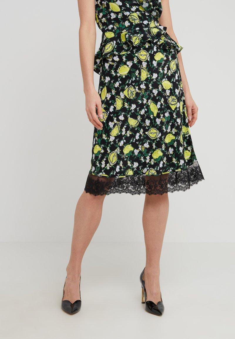 Diane von Furstenberg - CHRISSY - Pencil skirt - black