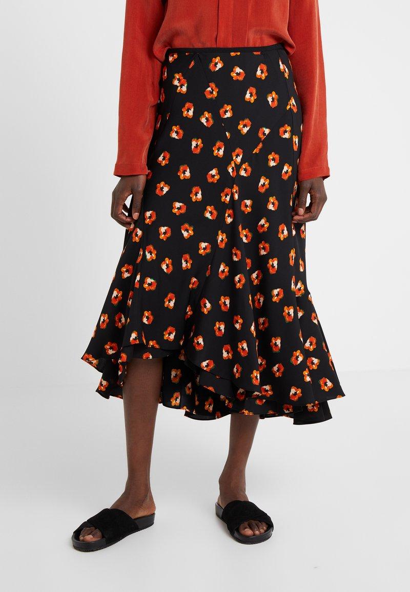 Diane von Furstenberg - DEBRA - A-line skirt - black