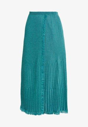 BROOKLYN - A-line skjørt - blue spruce