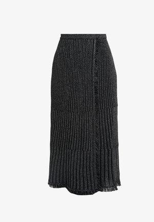BROOKLYN - Áčková sukně - black