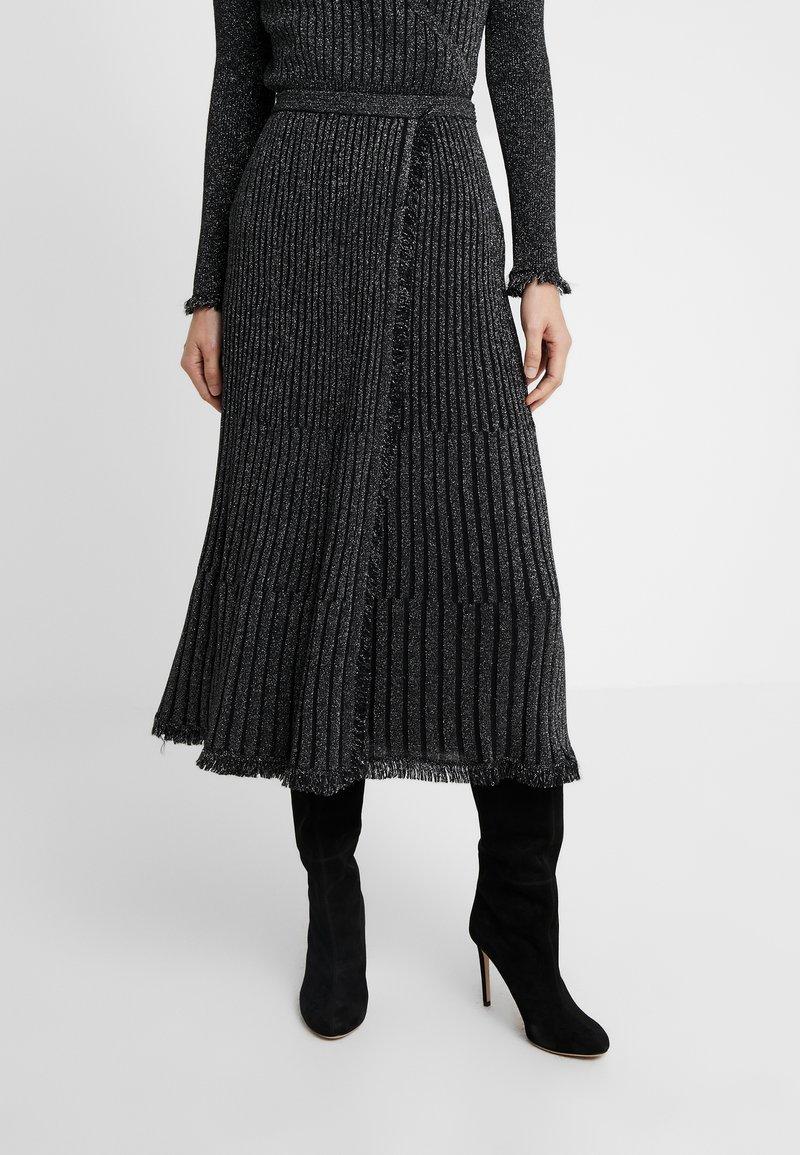 Diane von Furstenberg - BROOKLYN - A-linjainen hame - black