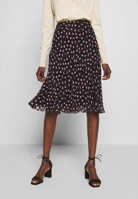 Diane von Furstenberg - MOLLY - A-line skirt - black - 0