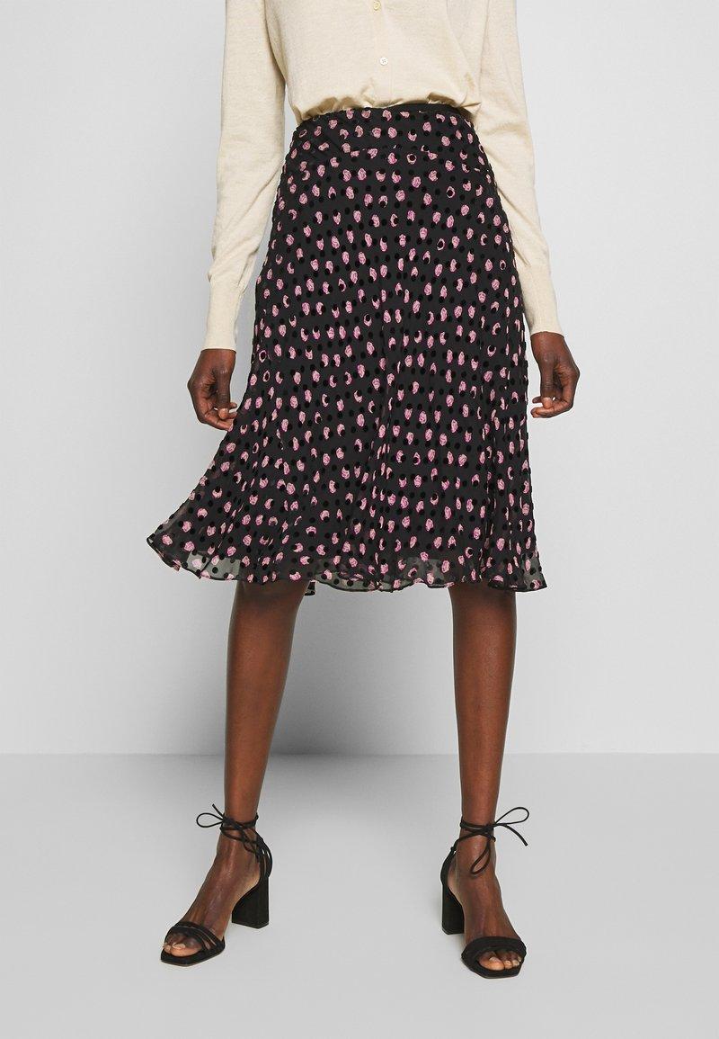 Diane von Furstenberg - MOLLY - A-line skirt - black