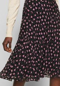 Diane von Furstenberg - MOLLY - A-line skirt - black - 4