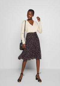Diane von Furstenberg - MOLLY - A-line skirt - black - 1