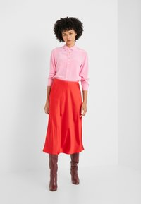 Diane von Furstenberg - EXCLUSIVE MAE SKIRT - A-line skirt - red - 1