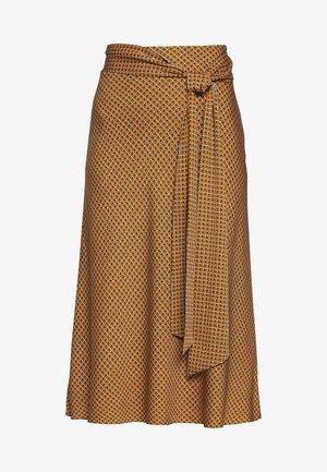 LESLEY - Áčková sukně - orange