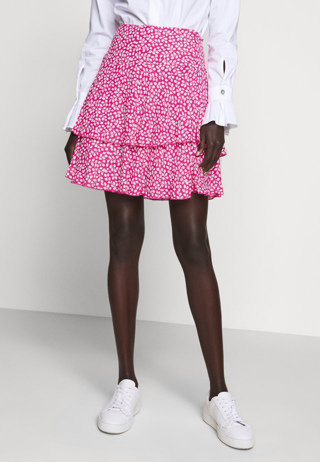 MARGAUX - A-line skirt - pink