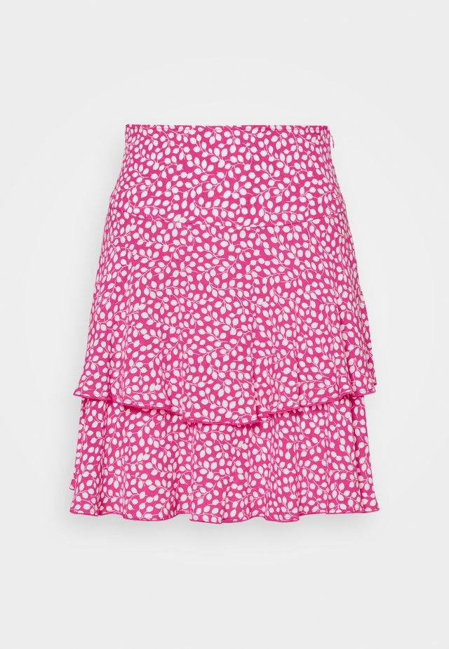 MARGAUX - Áčková sukně - pink