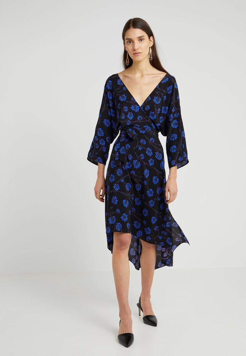 Diane von Furstenberg - ELOISE - Maxi dress - dragon berry/sapphire