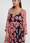 Diane von Furstenberg - ELOISE - Maxi dress - kimono blossom black