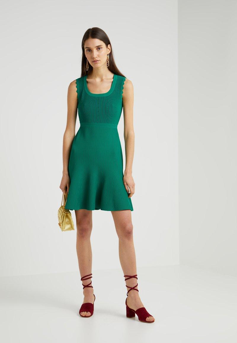 Diane von Furstenberg - Strickkleid - emerald/avalon teal
