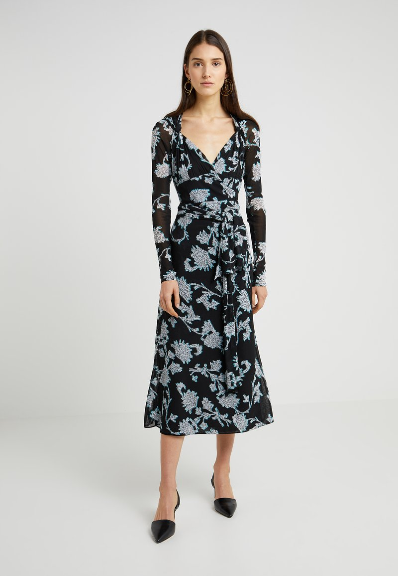 Diane von Furstenberg - MARIN - Day dress - sequin/black