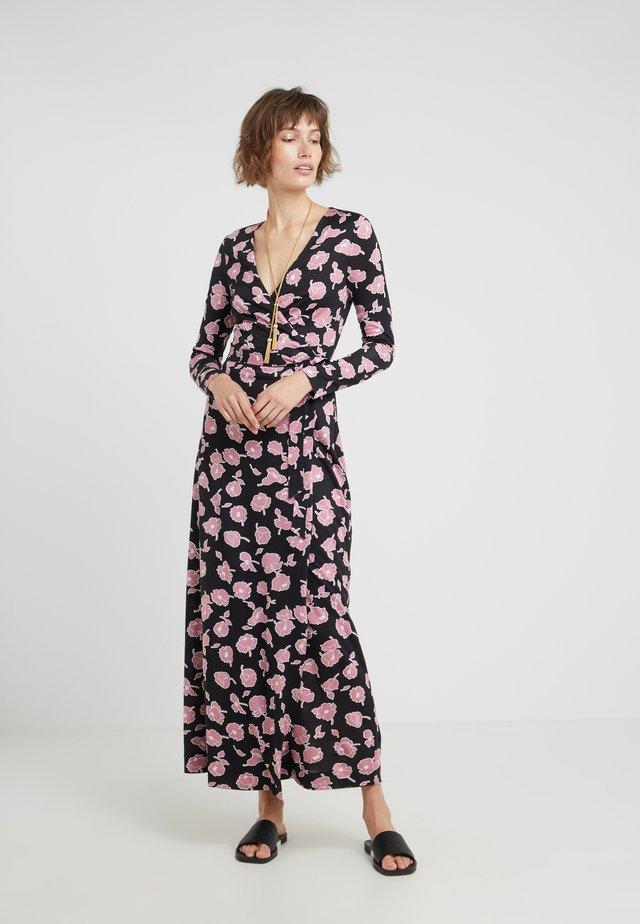 NEW JULIAN LONG - Maxiklänning - rose showers /black